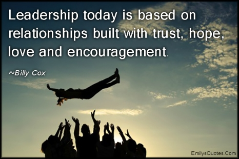 leadership and relationships